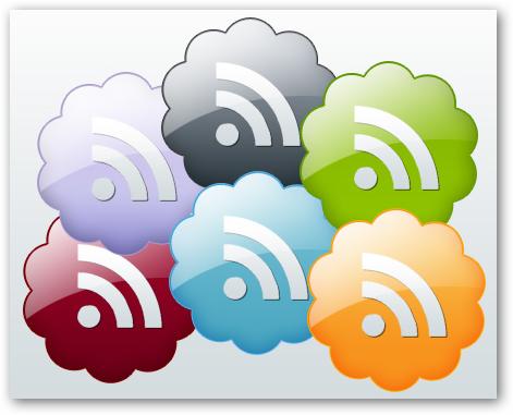 Những bộ RSS Feed Icon tuyệt đẹp RF07