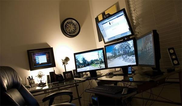 Imagens [Espantosas] Os mais incríveis escritórios em casa  Escritorio8