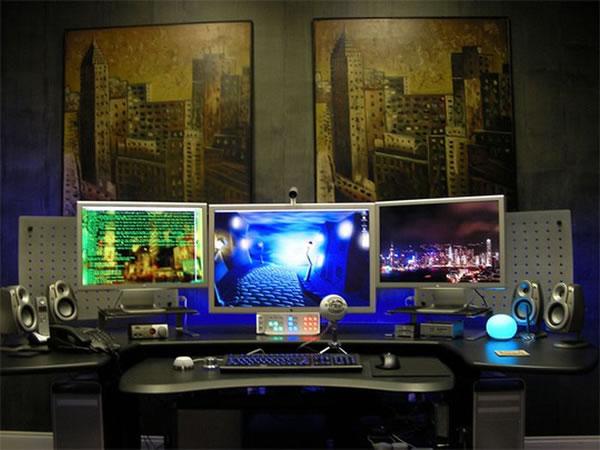 Imagens [Espantosas] Os mais incríveis escritórios em casa  Escritorio1