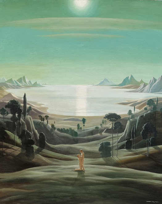 Paintings by Neo-Realist Herbert von Reyl-Hanisch Z