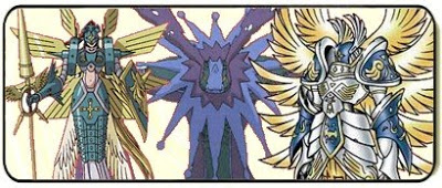 Os Digimons Arcanjos Dimonsarcanjo