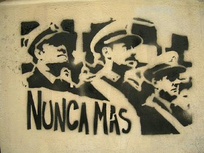A 35 años del comienzo de la última dictadura militar  NUNCA MAS Argentinapintada