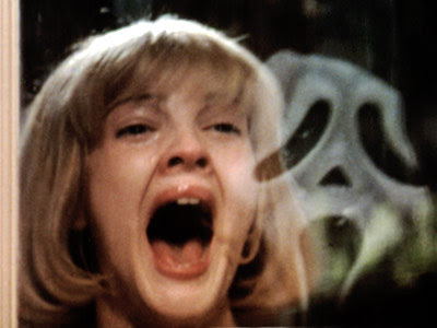 Top 31 Horror Movies  Barrymore_scream