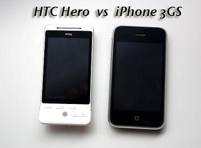 [DIVERS] iPhone 3GS vs HTC Hero: Test Comparatif (Video) Htc-hero-vs-iphone3GS