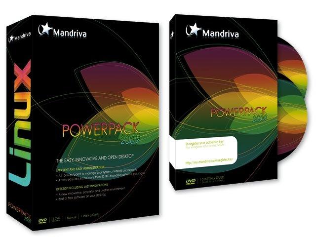 Mandriva Linux Powerpack 2009 DVD Multilenguaje 3D-2008-ENTEST