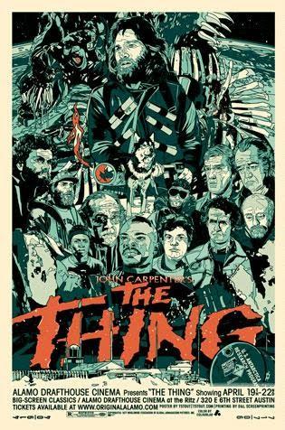 -Los mejores posters/afiches  del cine de terror y Sci-fi- - Página 2 The%2BThing%2BA