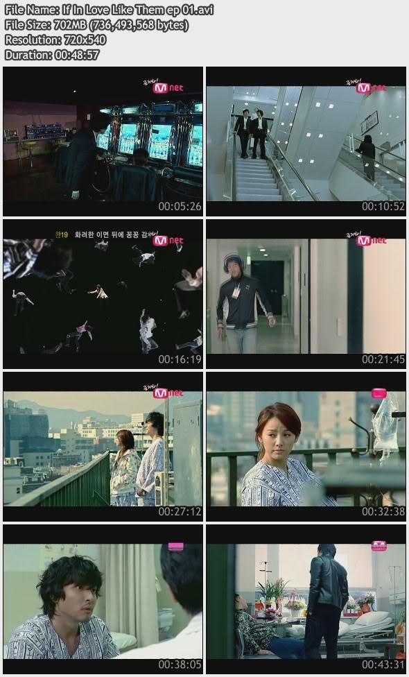 [070000] Hyori - If In Love Like Them E01 [702M/avi] IfInLoveLikeThemep01