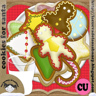 """"""" Cookies for Santa """" by Osa honey PREV"""