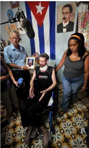 Ariel Sigler Amaya llega a Miami y es trasladado al hospital 006