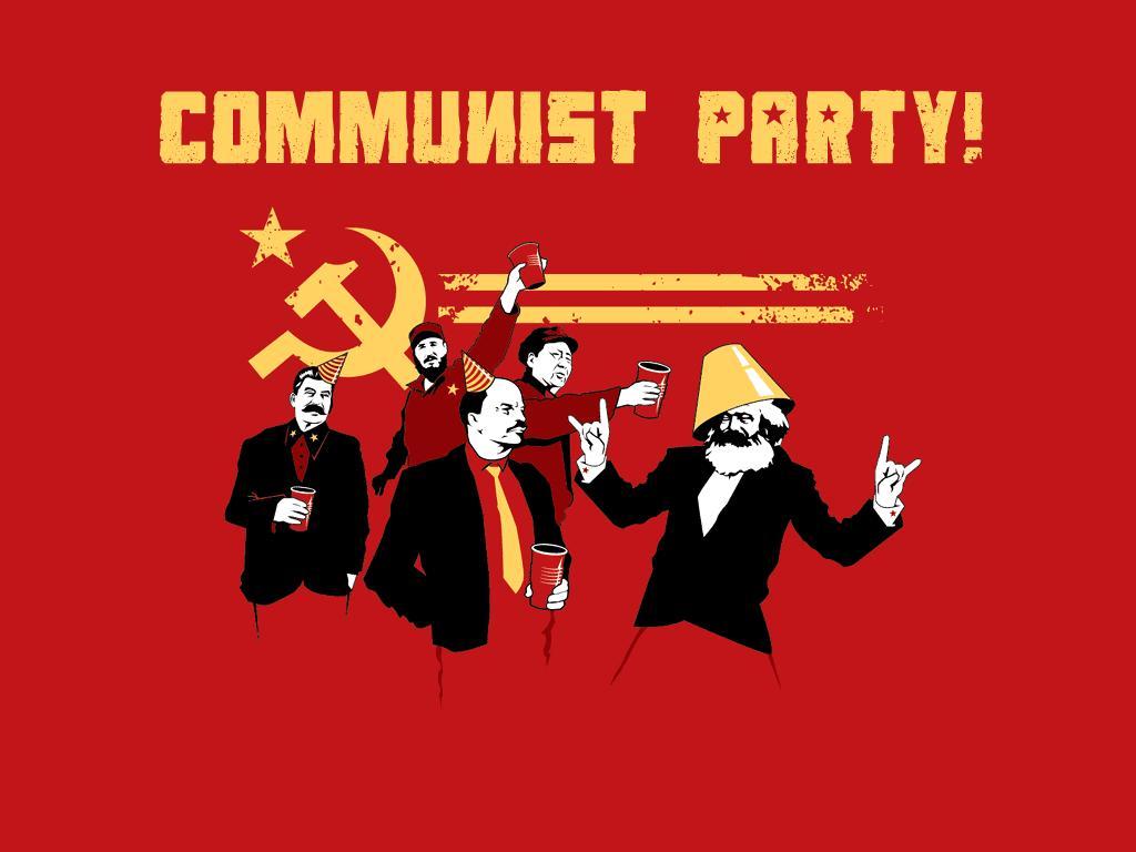 Cumpleaños de Marx Communistpartay