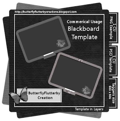 Blackboard - By: ButterflyFlutterby Creations Folder