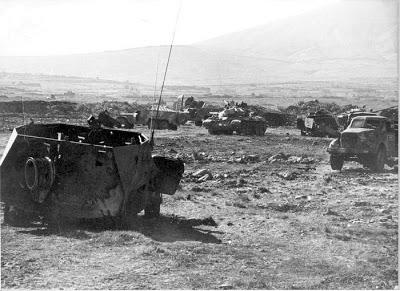 صور معركة وادي الدموع على الجبهة السورية عام 73  Zz34036