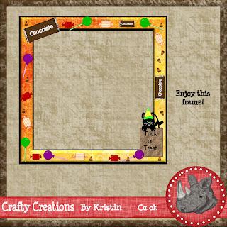 trick or treat frame by kris123 Pagelayouttreattricksq