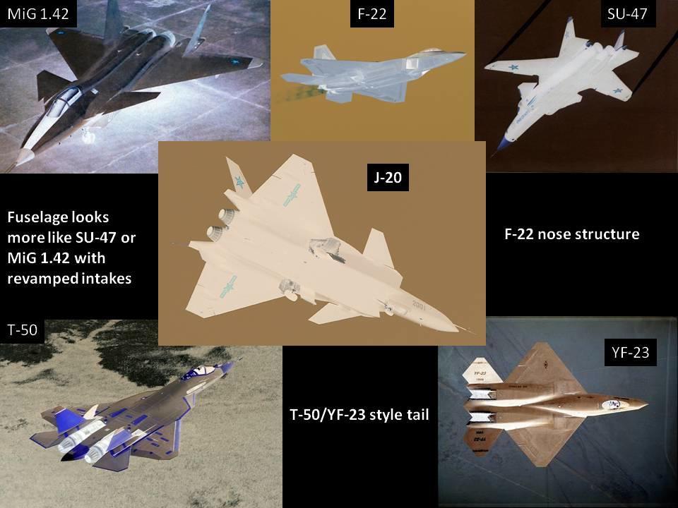الطائرات المصريه المحليه الصنع افضل من اى طائره اجنبيه - صفحة 2 Mig_1.44_F-22_Raptor_J-20_Black_Eagle_YF-23_Su-47_Pak-fa_Stealth_fighter
