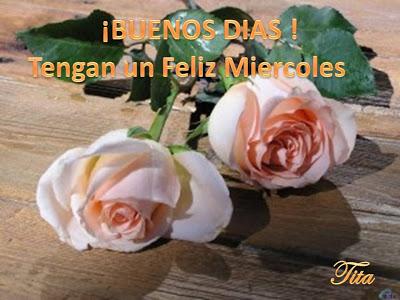 Buenos diasss...! Miercoles