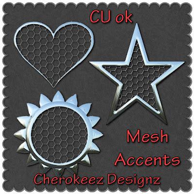 Wire Mesh CU Freebie by Doin' It Digital WireMeshAccentsCUfreebieCherokeezDesignzPREVIEW