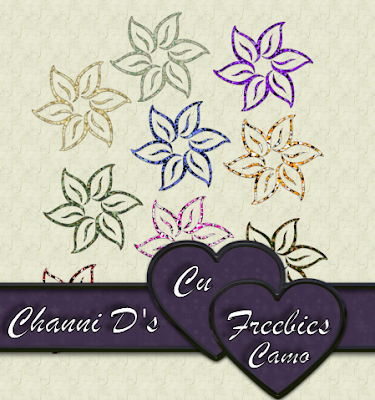 CAMO FLOWERS by Channi Camof