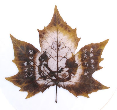 இலைகளில் அழகிய உருவங்கள்  Figures-on-leaves-10