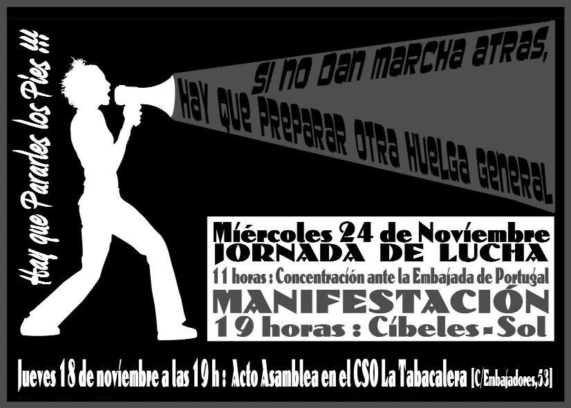 Madrid, 24 de noviembre: manifestación unitaria por una nueva huelga general 153355_noviembre24cartel