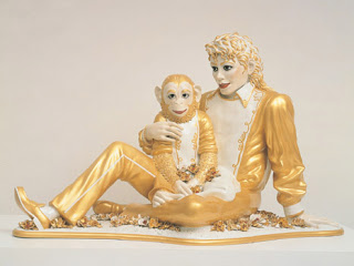La statua di Koons è attualmente esposta a New York  J_Koons_Michael_Jackson_and_Bubbles%281%29