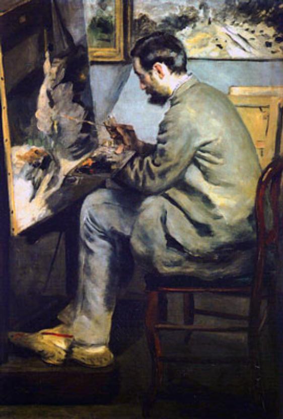 Frederic Bazille Portrait_of_jean-frederic_bazille