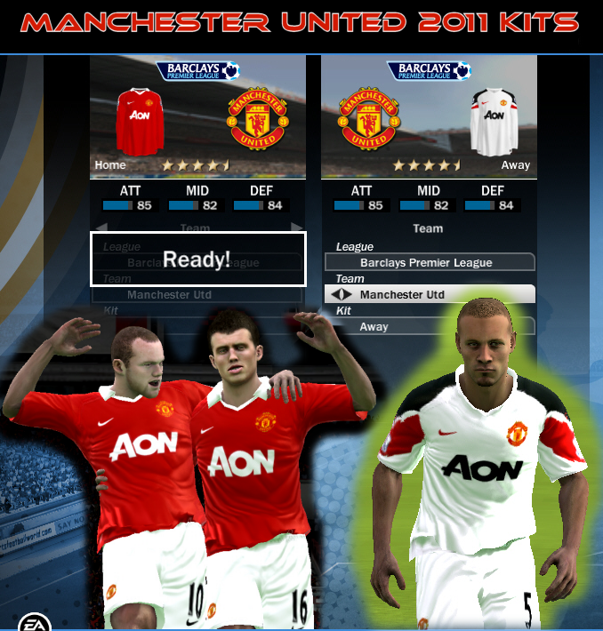 Kits 2011 para FIFA 10 Manu2011