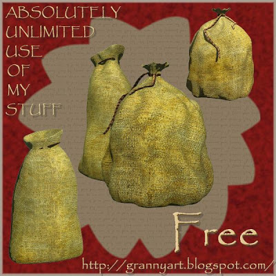 Sack in png free by Helga Stolzenwald Bags-tumb