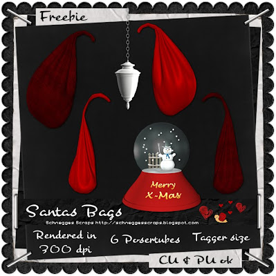 Santas-bags-cu-poserelement-freebie By schneggestuben.blogspot.com Schnegge_Prev_SantasBagsFreebie