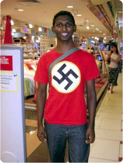 Humor, lumpenproletariado, palurdos y desclasados varios. Negro-nazi