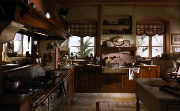مطابخ كلاسيكيه - صفحة 2 French-country-kitchen-582x360