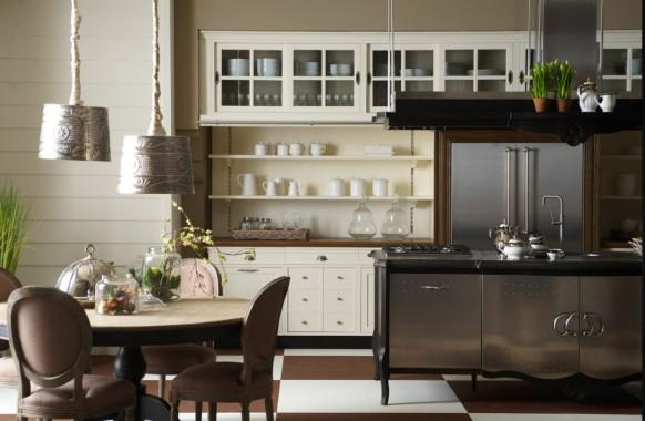 مطابخ كلاسيكيه - صفحة 2 Classic-country-kitchen-582x380