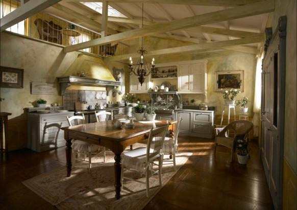 مطابخ كلاسيكيه - صفحة 2 Traditional-country-kitchens-582x411