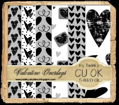 Valentine Overlays - By: Twinky Dezines ValentineOverlaysPreview