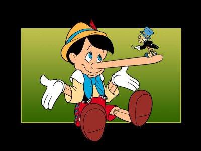 Η µύτη του Πινόκιο: Γιατί τα παιδιά λένε ψέµατα; Pinokio