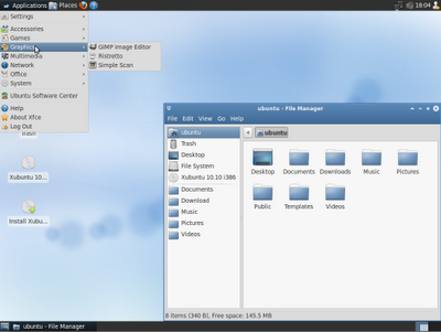 Xubuntu 10.10 Xubuntu-10-10-screenshot-theme