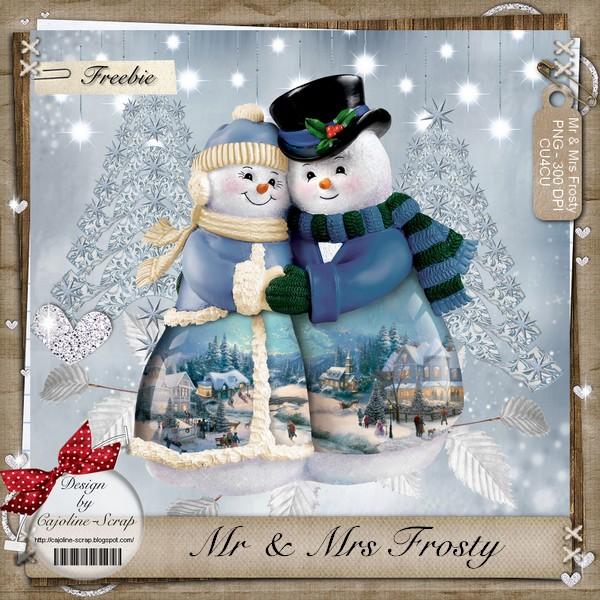 MR AND MRS FROSTY ! CU Cajoline_mrandmrsfrosty.pv
