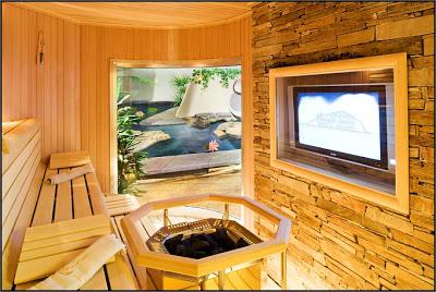 حمامات, ديكورات, 2009 Sauna