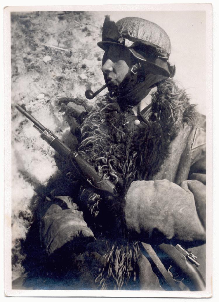 visages de soldats German%2Bsniper%2Bon%2Bthe%2BEastern%2BFront