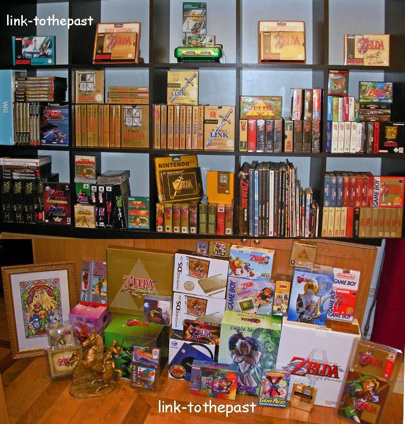 link-tothepast collection Zeldaall2