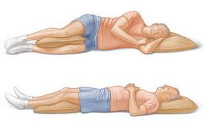 நாரிப்பிடிப்பு (முதுகு வலி) வராது தடுத்தல் Sleep-positions