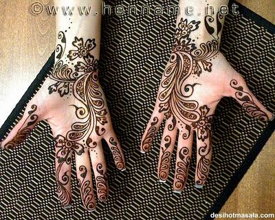Femmes peintes Mehndi-design-15