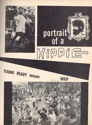 Article de Paris Match sur les hippies (Katmandou, Goa, Kaboul) 05