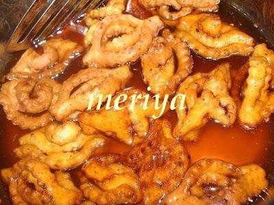 Chbakiya ou Chabbakia ou L'm5ar9a ou L'mkharka ou Grewich marocaine 8f