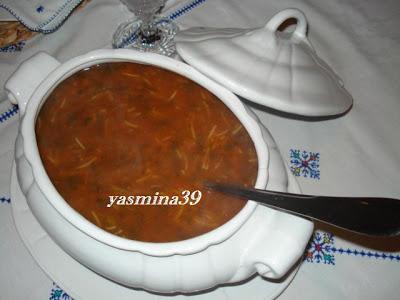 Harira - Soupe marocaine /  Soupe nationale au Maroc Ramadan