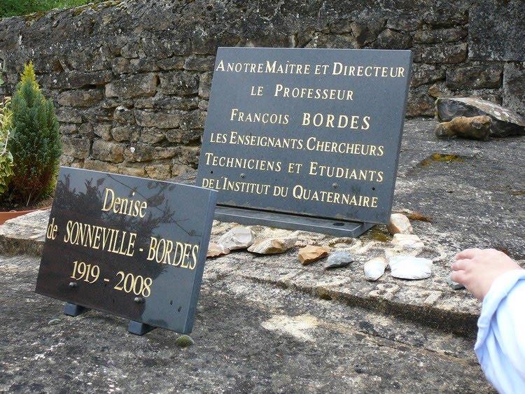 La tombe de Francois et Denise Bordes 1
