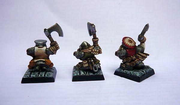 Skavenblight's painting dwarfs... again! Dd4