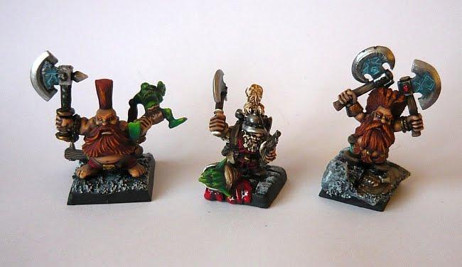 Skavenblight's painting dwarfs... again! Df2