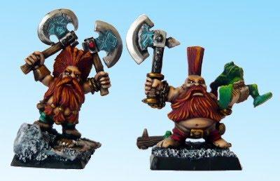 Skavenblight's painting dwarfs... again! 2a