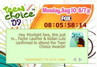 Teen Choice Awards y People's Choice Awards 2009 Ghj