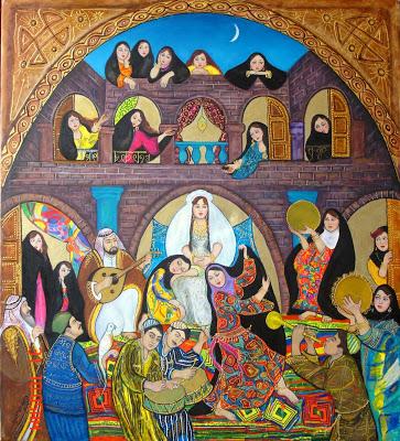 لكل يوم لوحة فنية - صفحة 7 Wedding